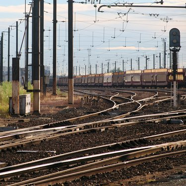 Classification yard in Trappes (Yvelines, France) (2)